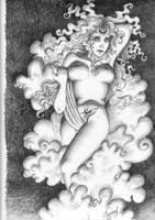 Ishtar-Sumerian Aphrodite by RosyFingeredDawn