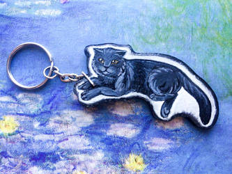 Cat keychain by ShadowOfLightt