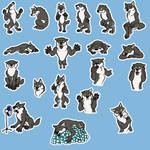 Werewolf telegram sticker pack by ShadowOfLightt