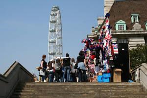 London tourists by d3lf
