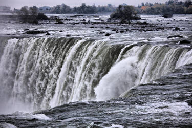 Canadian Falls, Niagara HDR by d3lf