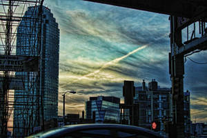 Test HDR - NY Sky by d3lf