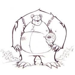 Mr. Bear by frogbillgo