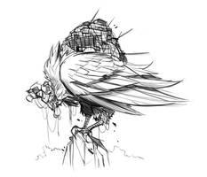 Vulture Transport by frogbillgo