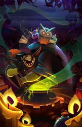 Witch's Brew by frogbillgo