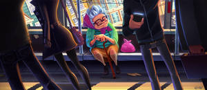 The Bus by frogbillgo