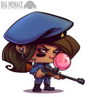 Lola The Sniper by frogbillgo