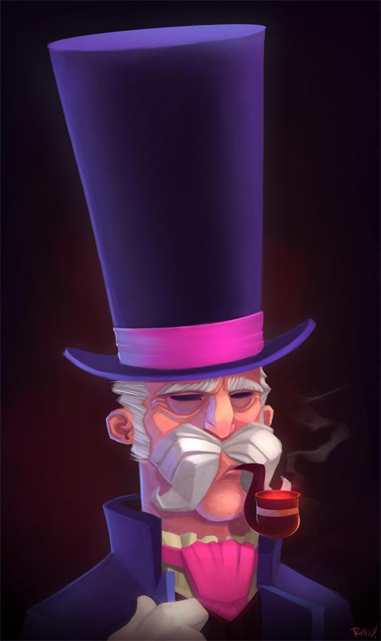 Top Hat by frogbillgo