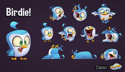 Birdie! by frogbillgo