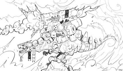War Dragon by frogbillgo
