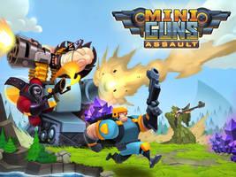 Miniguns: Assault! by frogbillgo