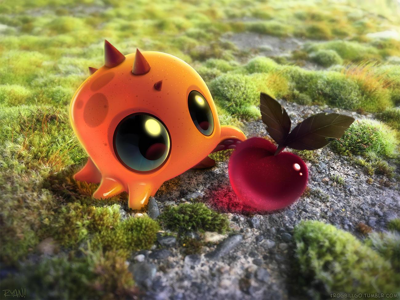 Cherry Treat by frogbillgo