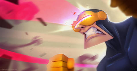 Cyclops by frogbillgo