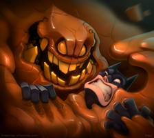 Clayface by frogbillgo