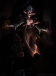 Vampire by frogbillgo