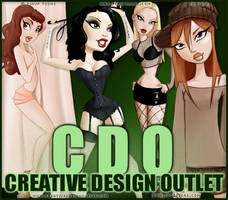 CDO Artist Of The Month April 2012 - PinUp Toons by CreativeDesignOutlet