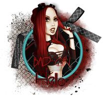 AM-BadGirl by CreativeDesignOutlet