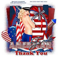 Dougherty - Thank You USA by CreativeDesignOutlet