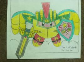 Star Warrior Kirby by Gemstrike