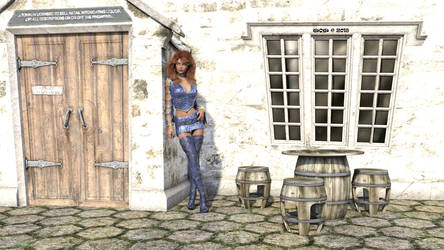 1827b) New 2nd Effort Kyra Milan by WOW-Creations