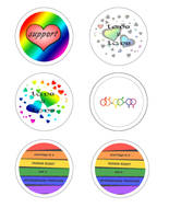 marriage equality buttons by MiracleElixer