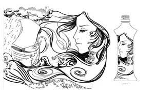 The Water Maiden by Amazaa