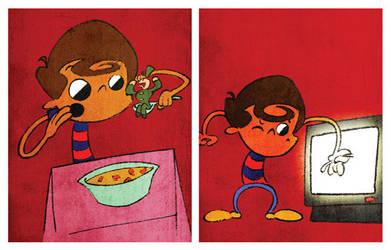 children's book illustration by zezvaz
