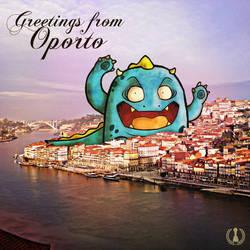 Greetings from Oporto by zezvaz