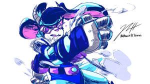 Commission: BREAKER BLUE by Aerobian-Angel