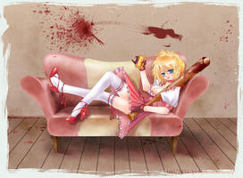 NO MORE HEROES by tickledpinky