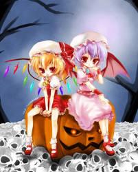 Happy Halloween ScarletSisters by tickledpinky