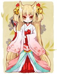 Oinari-sama by tickledpinky
