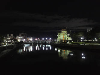 Hiroshima Atomic Bomb Dome by tickledpinky