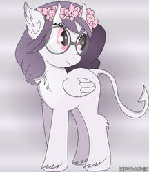 Lacie Tears - MLP OC (Trade) by XenoGenicOfficial