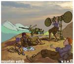 Mountain Watch by wingsofwrath