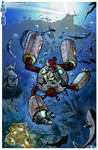 Cat in a Wet Tin Suit by wingsofwrath