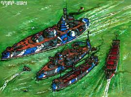 Tambrian navy by wingsofwrath