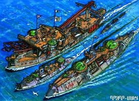 Marbanian Inshore Squadron by wingsofwrath