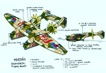 Marbanian Bomber by wingsofwrath