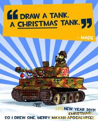 A CHRISTMAS tank! -Pt.3 by wingsofwrath