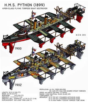 HMS Python by wingsofwrath