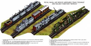 RNAS Armoured Train by wingsofwrath
