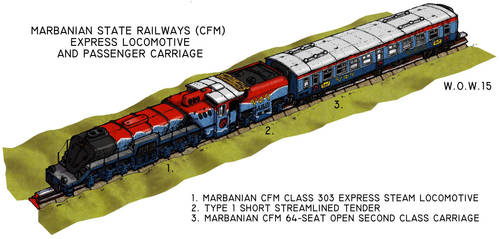 Marbanian Locomotive by wingsofwrath