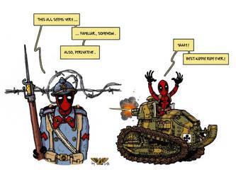 Deadpool by wingsofwrath