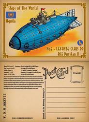 Skies of Fire Postcard by wingsofwrath