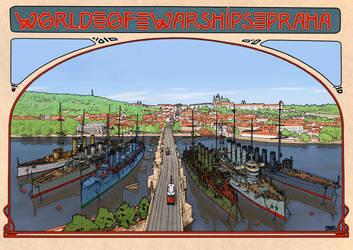 World of Warships Praha POSTER by wingsofwrath