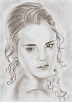 Hermione Granger - Yule ball by Eileen9