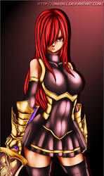 Fairy Tail - Erza Scarlet by OneBill