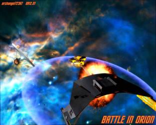 BATTLE IN ORION by archangel72367