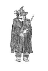 Ludo Lafhart - A villain in Douwe Dabbert by Dwarf-Cartoonist